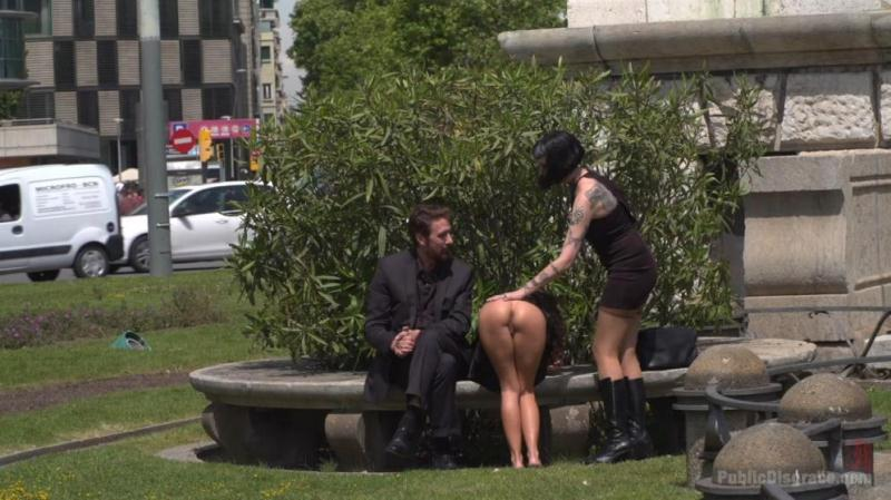 Melody Petite, Mistress Minerva (Perky Little Slut in a Box - Part 1 / 29.08.2016) [PublicDisgrace / HD]