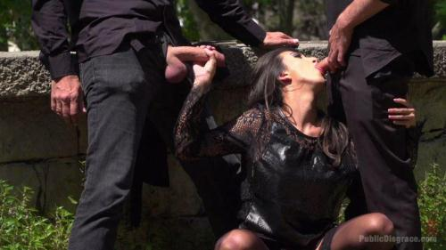 Frida Sante - Spanish Slut Frida Sante Fucked Outdoors [HD, 720p] [Publ1cD1sgr4c3.com/Kink.com] - BDSM