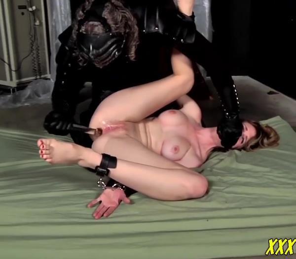 Amateur Forced anal orgasms of helpless girl [Sadism Bondage 720p]