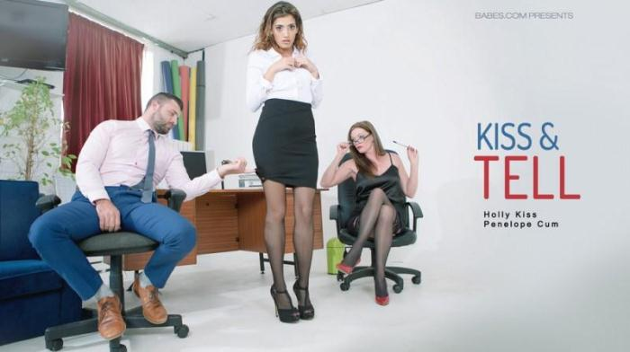 OfficeObsession.com - Holly Kiss, Penelope Cum - Kiss & Tell (MILF, Teen) [SD, 480p]