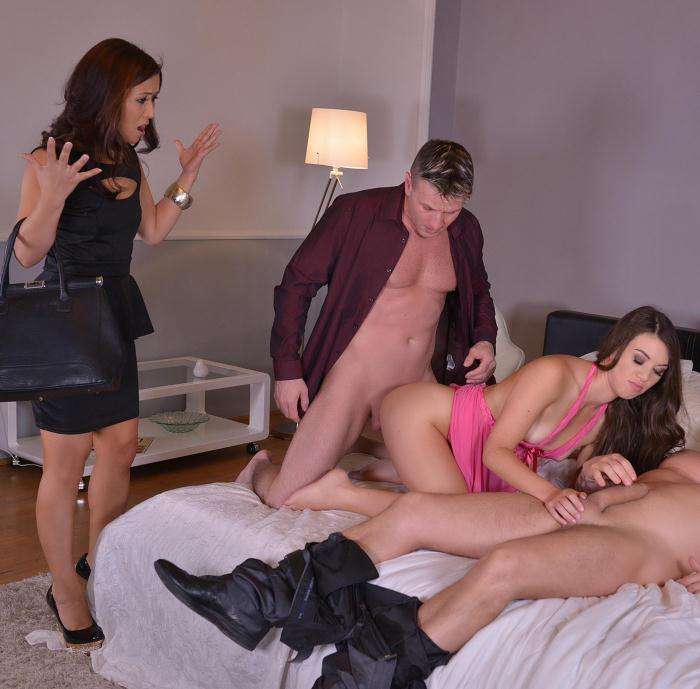 HandsonHardcore/DDFNetwork - Tiffany Doll, Cristine Akira Lee - The Boys Are Back In Town - Two Babes Get Their Cunnies Stuffed [HD 720p]