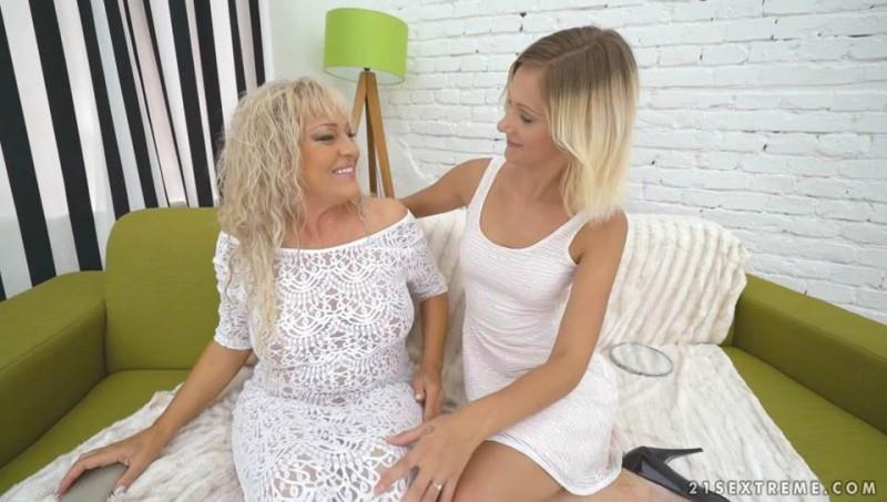 Magdi, Pamela Sweet - Lesbians Young And Old (20.09.2016) [OldYoungLesbianLove, 21Sextreme / SD]