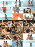 Extreme Insertion: Kristen, Nina - Kristen gets deep fisting from Nina on beach (FullHD/2016)