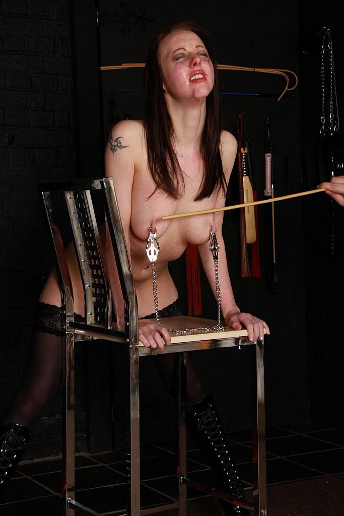 ThePainFiles.com - Slavegirl Emily Sharpe - Tears, Terror and Torments (BDSM) [SD, 576p]