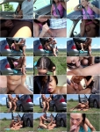 Angelina Wild - Euro Hitchhikers Roadside Swallow [SD 480p]