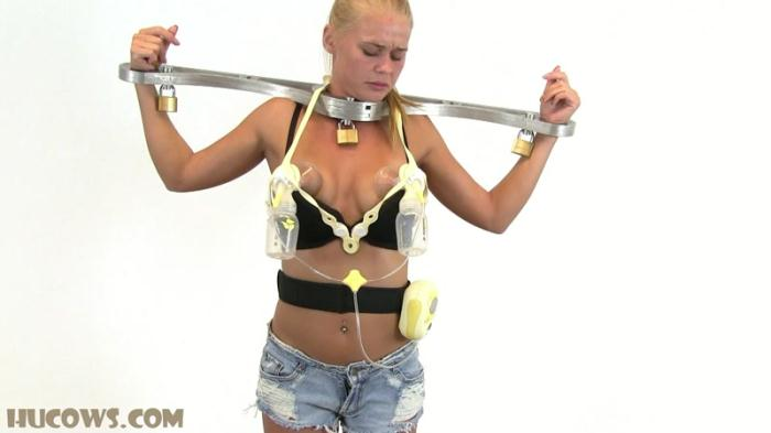HuCows.com - Darina very strange casting (BDSM) [FullHD, 1080p]