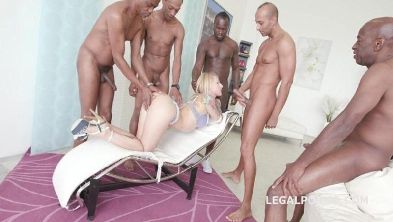 Black Busters, 5on1 Christie Starr interracial BALL DEEP/ DP /DAP /GAPES /CREAMPIE GIO227 [LegalPorno / SD]