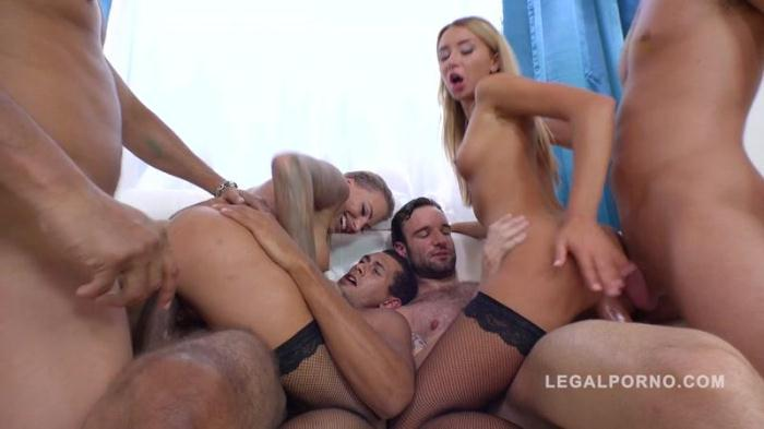 LegalPorno.com - Katrin Tequila & Juelz Ventura extreme 4on2 orgy with DP, DAP and more RS274 (Teen, Group sex) [HD, 720p]