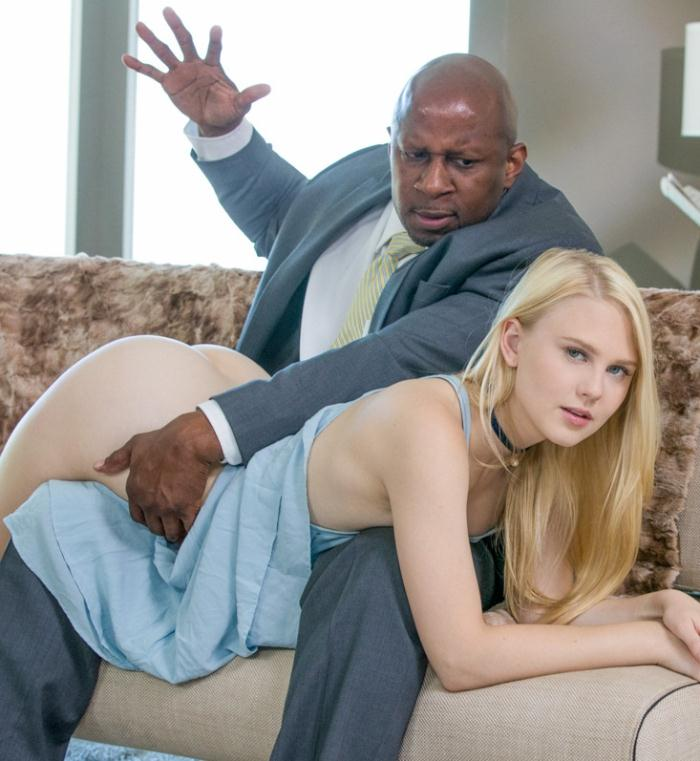 Lily Rader - Young Girl Tries Threesomes with Two BBC  [HD 720p]