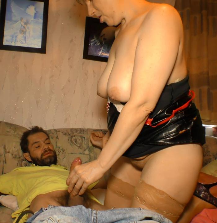 Evelin K. - Mature German BBW Evelin K. loves cock and cum  [HD 720p]