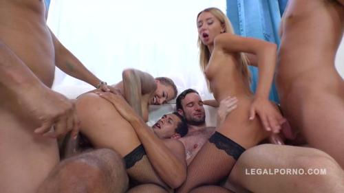 LegalPorno.com [Katrin Tequila & Juelz Ventura extreme 4on2 orgy with DP, DAP and more RS274] HD, 720p
