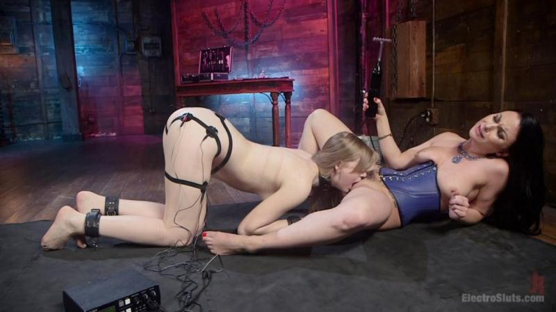 Dolly Leigh, Veruca James (Birthday Girl: Electric spankings, fucking, & tons of pussy licking! / 2016.09.08) [ElectroSluts / HD]