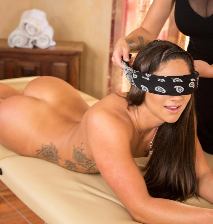 AllGirlMassage/FantasyMassage: Jessa Rhodes, Aspen Rae - Sensation Therapy: Part One  [HD 720p]  (Lesbians)