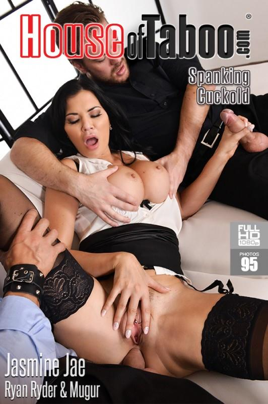 H0us30fT4b00.com/DDFN3tw0rk.com - Jasmine Jae - The Bound Cuckold - A Horny Wife's Deep Throat Affaire (Threesome, Anal) [SD, 360p]