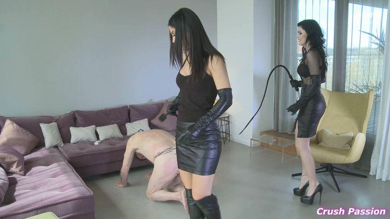 Lady Chanel and Mistress Blackdiamoond - Whipped By Two German Goddess [Clips4sale, Crush Passion / FullHD]