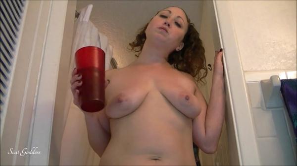 Scat Porn - Xmas Poop - Solo Pooping [FullHD, 1080p]