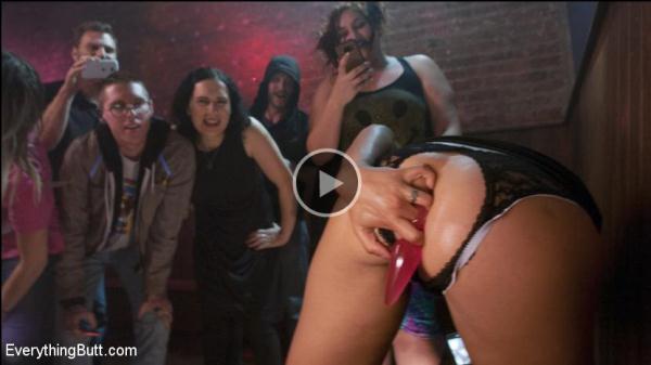 Dana DeArmond, Sophia Grace - Wrecked in Public! Sophia Grace and Dana Dearmond play with Ass [SD 540p]