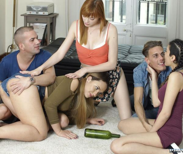 Private: Anny Aurora, Briana Bounce, Penelope Cum - New Cummer Brianna Bounce Stars in Orgy With Penelope Cum and Anny Aurora (HD/2016)