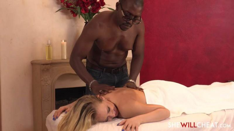 SheWillSheat.com: Hotwife Kagney Linn Karter's Interracial Massage [SD] (284 MB)