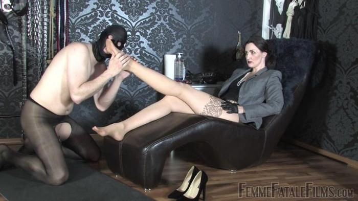 FFF - Eat My Feet Updated 21st Sep 2016 (Femdom) [HD, 720p]