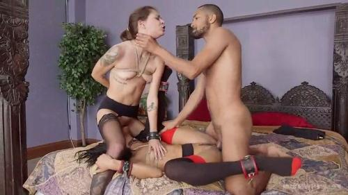 Nikki Darling, Kacie Castle, Mickey Mod - Initiation Of The Insatiable Kacie Castle [SD, 540p] [Th3Upp3rFl00r.com] - BDSM
