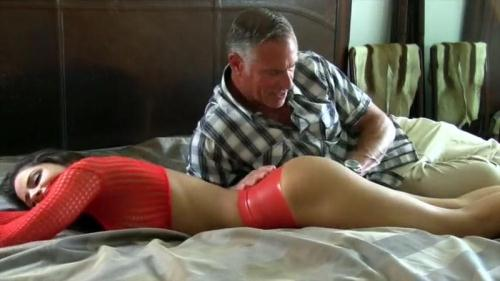 Chichi's Perverted Step-Dad, Part 1 [SD, 480p] - Spanking