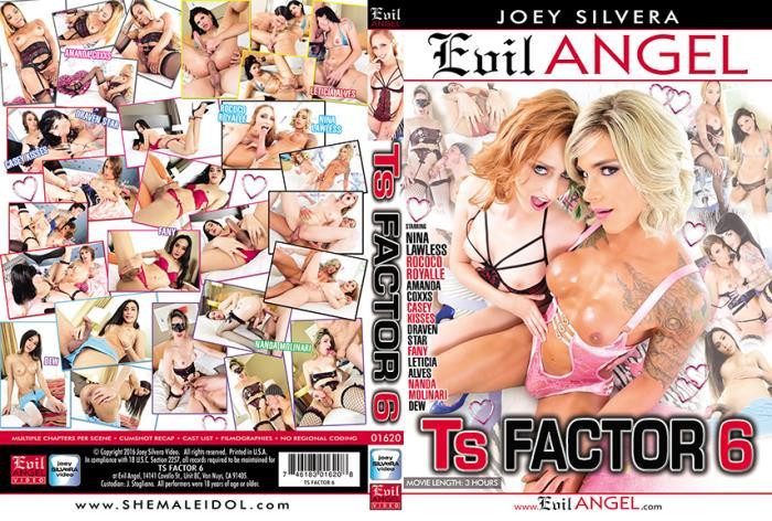 Evil Angel: Amanda Coxxs, Casey Kisses, Dew, Draven Star, Fany, Leticia Alves, Nanda Molinari - TS Factor 6 [WEBRip/SD 540p]