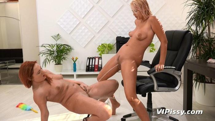 Cleaning Lady (V1P1ssy) HD 720p