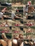 Julia Pink - Milf Julia Pink Takes an Anal Creampie in the Forest [360p]