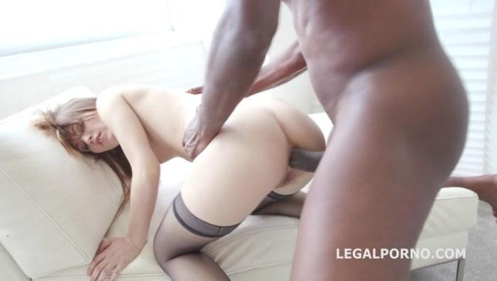 LegalPorno.com - Black Buster, Ginger Fox gets gapes non stop with Mike Chapman. NO PUSSY /BALL DEEP /GAPES GIO209 (Anal) [SD, 480p]