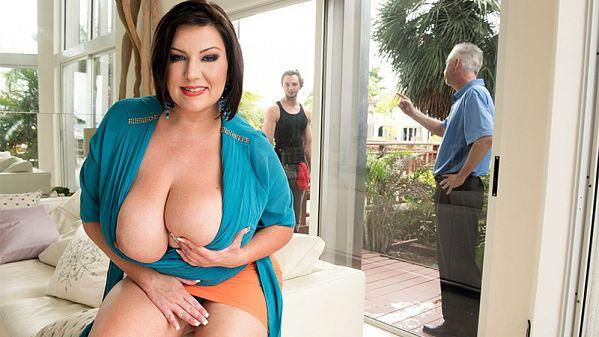 Sc0r3l4nd.com/P0rnM3g4L04d.com - Paige Turner - Bangin The Window Washer (Milf, Big Tits) [SD, 480p]