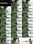 Exclusive Pissing - Amateur - Stream on Tarmac [FullHD 1080p]