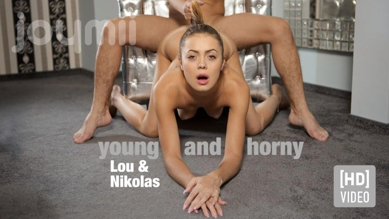 Lou (Young and Horny / 10.09.16) [JoyMii / HD]