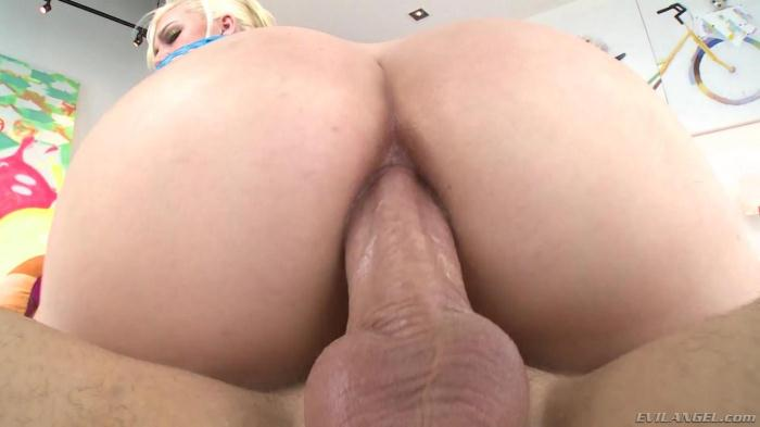 3v1l4ng3l.com - Jenna Ivory - Big Ass Fucked To Gaping (Anal) [SD, 400p]