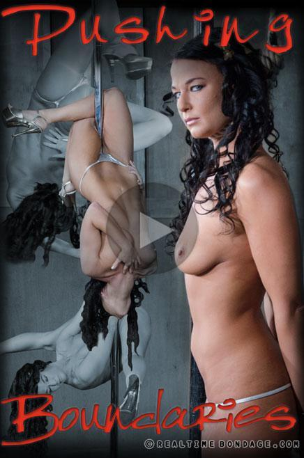 (Torture / MP4) London River - Pushing Boundaries Part 1 RealTimeBondage.com - HD 720p