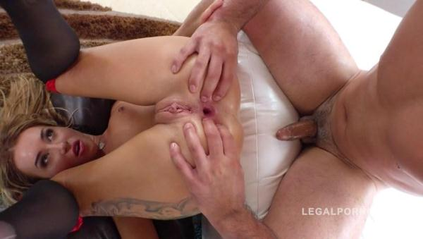 LegalPorno - Katrin Tequila ass smashed in this 5on1 fuck fest RS266 [SD, 480p]