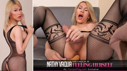 Nathy Vaqua - Ms.Vaqua is Feeling Herself [FullHD, 1080p] [Tr4ns4tPl4y.com] - Shemale