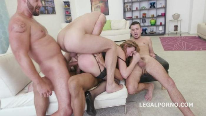 LegalPorno.com - 5on1 Luca Bella - No Pussy /DAP /TP /MANHANDLE /BALL DEEP /GAPES New Milf Joins The Airline GIO249 (Group sex) [SD, 480p]