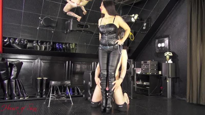 Hump My boots like a stupid dog [House Of Sinn / HD]