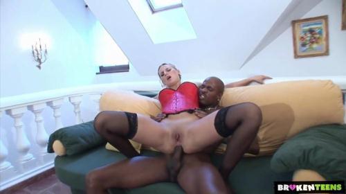 BrokenTeens.org [Patricia Spreads Her Butt For A Big Black Cock] SD, 360p