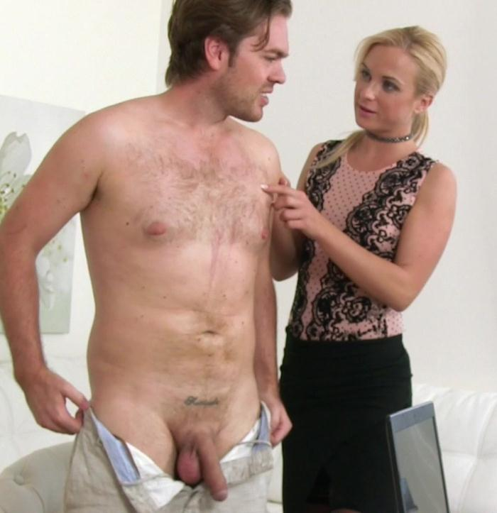 FemaleAgent: Cristal Caitlin, Ryan - British Stud in Perfect Casting  [FullHD 1080p]  (Casting)