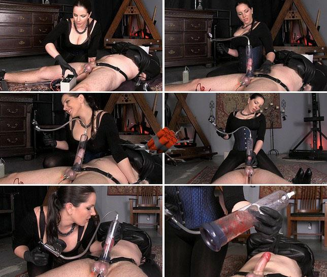Amateur - Extreme bloody pumped until he bleeds [FullHD 1080p] Extreme Stimulation