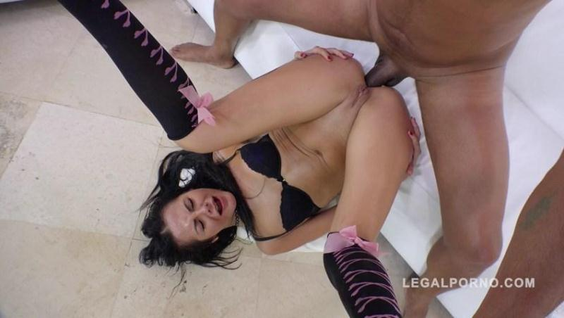 Amanda Black ass smashed by 3 cocks & DP RS277 [LegalPorno / SD]