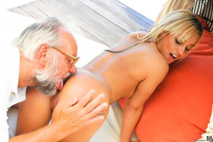 GrandpasFuckTeens.com - Angelina Julie - Sweet Silverback [FullHD 1080p]
