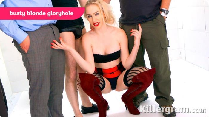 GloryHoleGaggers.com - Grace Harper - Busty Blonde Gloryhole [HD 720p]