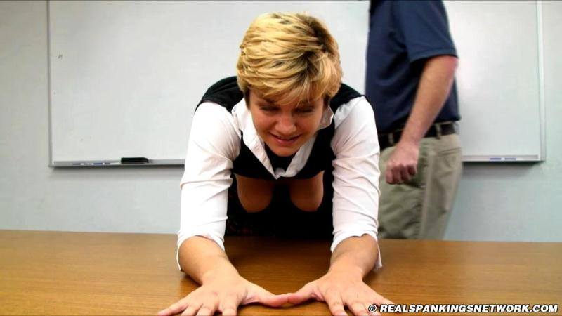 Bobbie Sent to the Dean [Real Spankings Institute / HD]