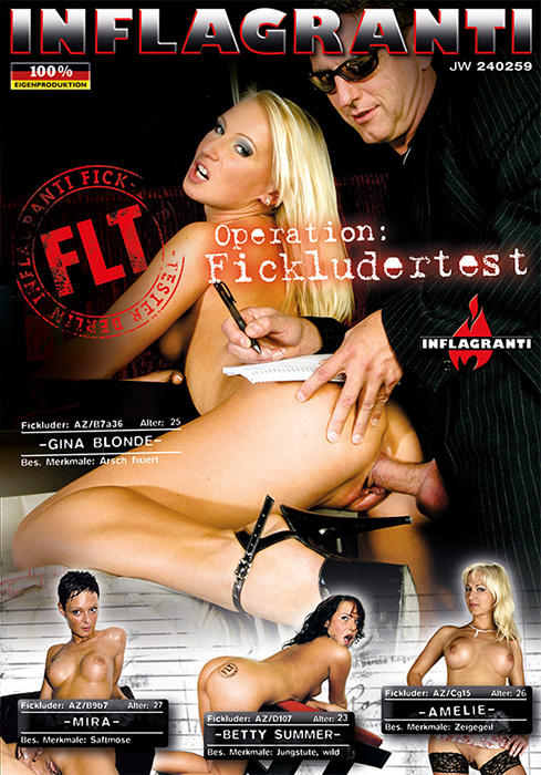 Inflagranti Film: Gina Blonde, Mira, Betty Summer, Amelie, Jean Pallett, Markus Waxenegger - Operation: Fickludertest [DVDRip 394p]