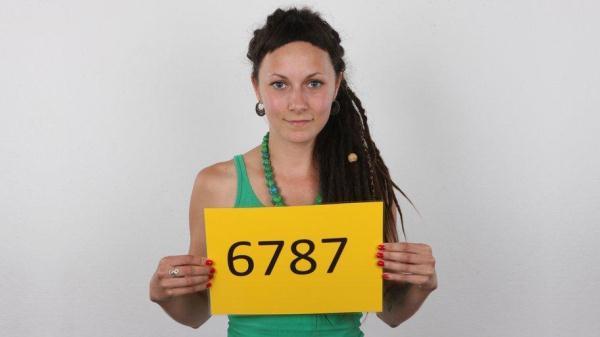 Michaela (6787) - CzechCasting.com/CzechAV.com (SD, 540p) [Casting, Teen, Brunette, Czech, Amateur]