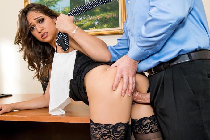 Intern Sara Luvv Fucks Her Way Up the Corporate Ladder (17.09.2016) [XXXAtWork, Wankz / SD]