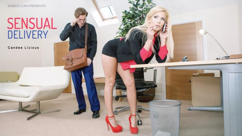 OfficeObsession.com: Candee Licious - Sensual Delivery [SD] (333 MB)